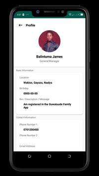 Guwatuude Family App screenshot 1