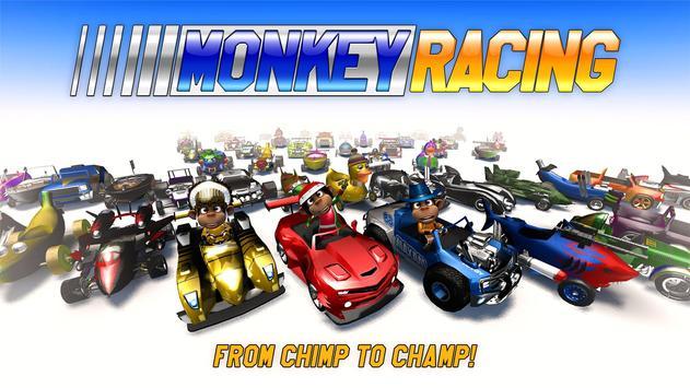 Monkey Racing Free تصوير الشاشة 5