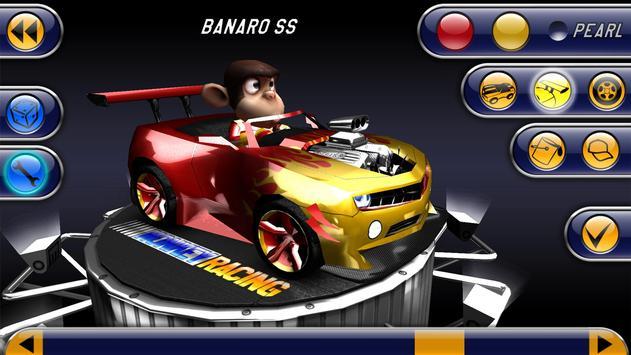 Monkey Racing Free تصوير الشاشة 6