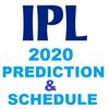 IPL 2020 PREDICTIONS AND SCHEDULE ikona