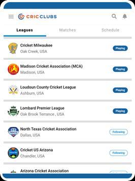Cricclubs Mobile screenshot 19