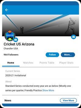 Cricclubs Mobile screenshot 12