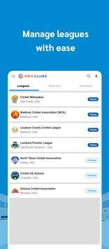 Cricclubs Mobile screenshot 4