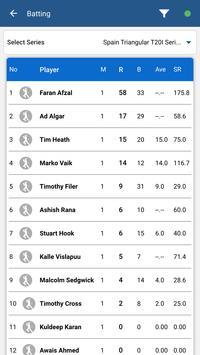 Cricket España screenshot 4