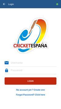 Cricket España screenshot 1