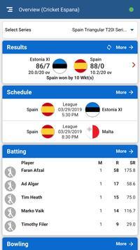 Cricket España screenshot 2