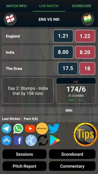 Cricflame Live Cricket Line screenshot 10