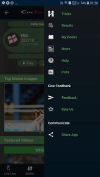 Cricflame Live Cricket Line screenshot 9