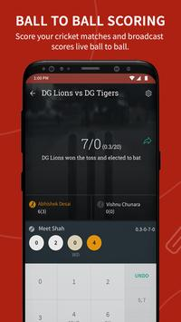 Cricket Scoring App | Live Score - CricHeroes poster