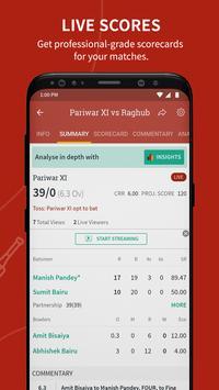Cricket Scoring App | Live Score - CricHeroes screenshot 1