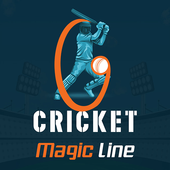 CricketScore - Cricket Magic Line आइकन