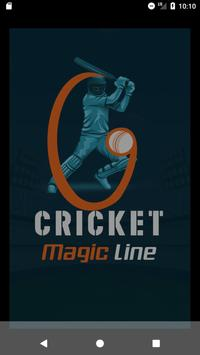 CricketScore - Cricket Magic Line पोस्टर