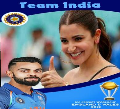 2019 Cricket World Cup Photo Frame screenshot 1