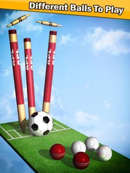 Top Cricket Ball Slope Game screenshot 4