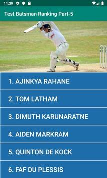 Test Batsman Ranking Part-5 poster