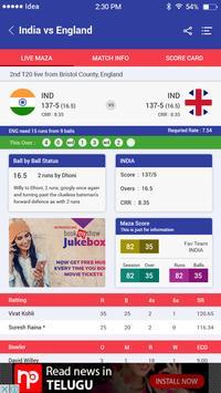 Cricket live maza screenshot 3