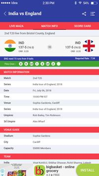 Cricket live maza screenshot 4