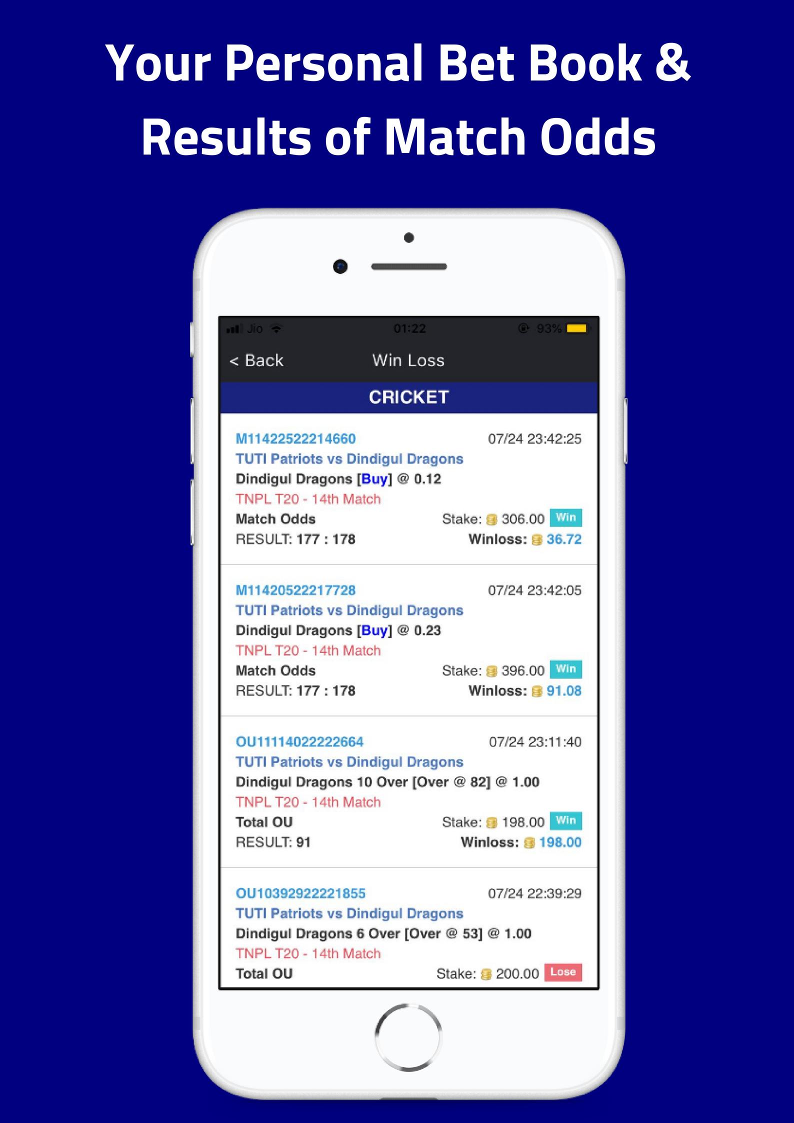 Criczumo - Fantasy Cricket, Real Match Odds for Android