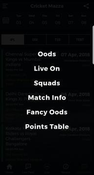 Cricket Mazza screenshot 7