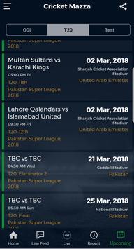 Cricket Mazza screenshot 4