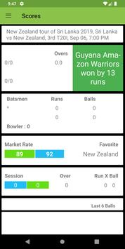 Cricket Score Live Line poster