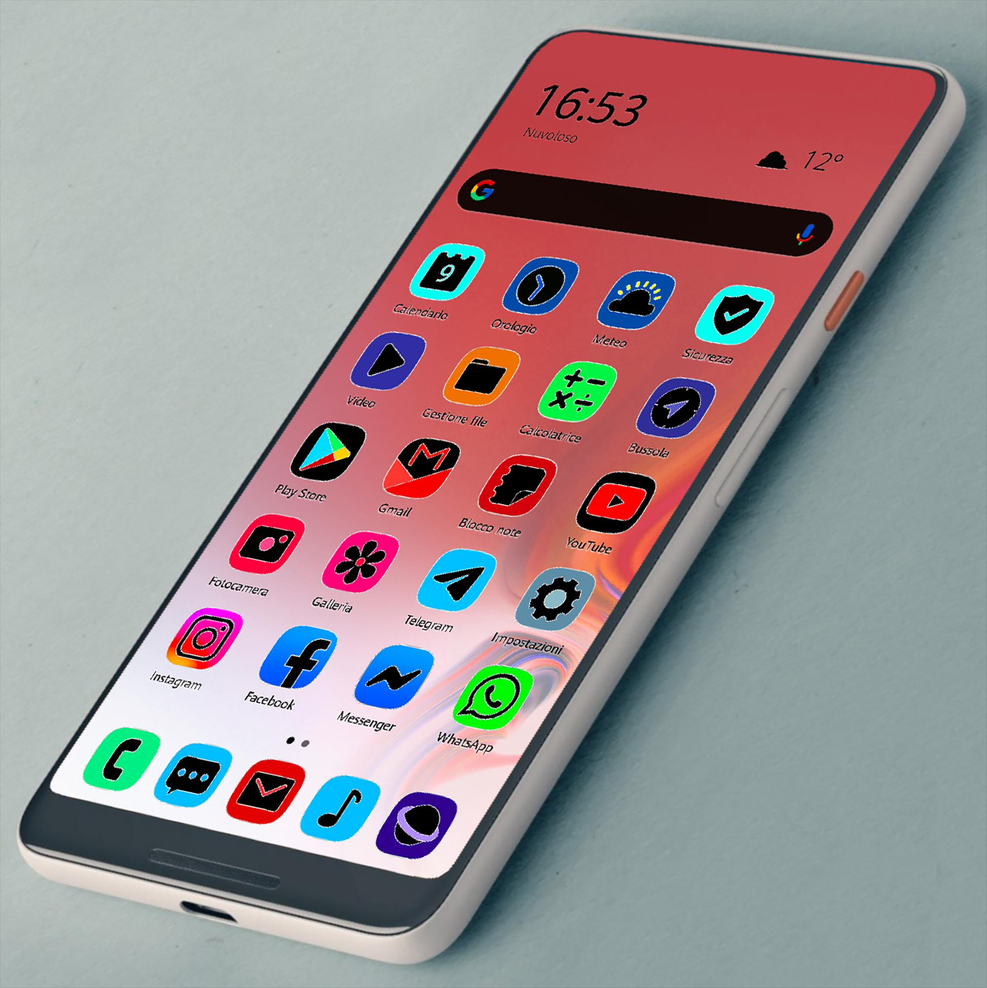 ONE UI FLUO - ICON PACK for Android - APK Download