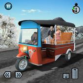 Hill Climb 3D- Tuk Auto Rickshaw Game icon