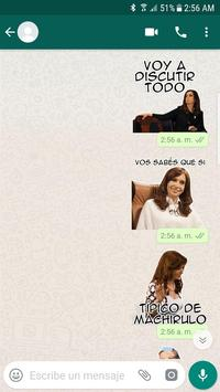 Cristina Stickers screenshot 2