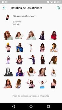 Cristina Stickers screenshot 6