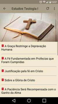 Estudos Bíblicos Teologia скриншот 1