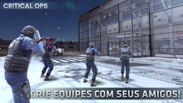 Critical Ops Cartaz