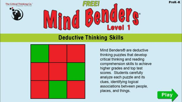 Mind Benders® Level 1 (Free) poster