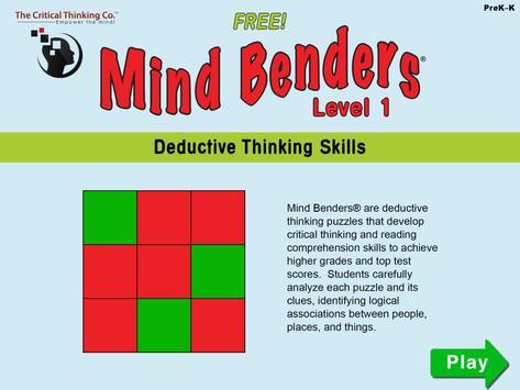 Mind Benders® Level 1 (Free) screenshot 10