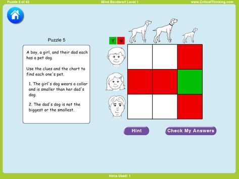 Mind Benders® Level 1 (Free) screenshot 13
