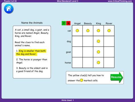 Mind Benders® Level 3 (Free) screenshot 12