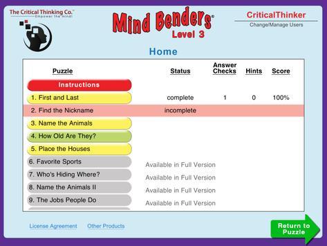 Mind Benders® Level 3 (Free) screenshot 14
