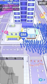 🎮The Crowd City!🎮 screenshot 2
