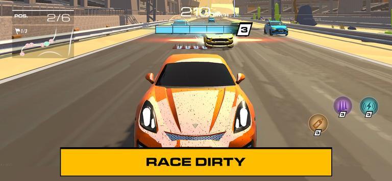 Racing Clash Club स्क्रीनशॉट 1