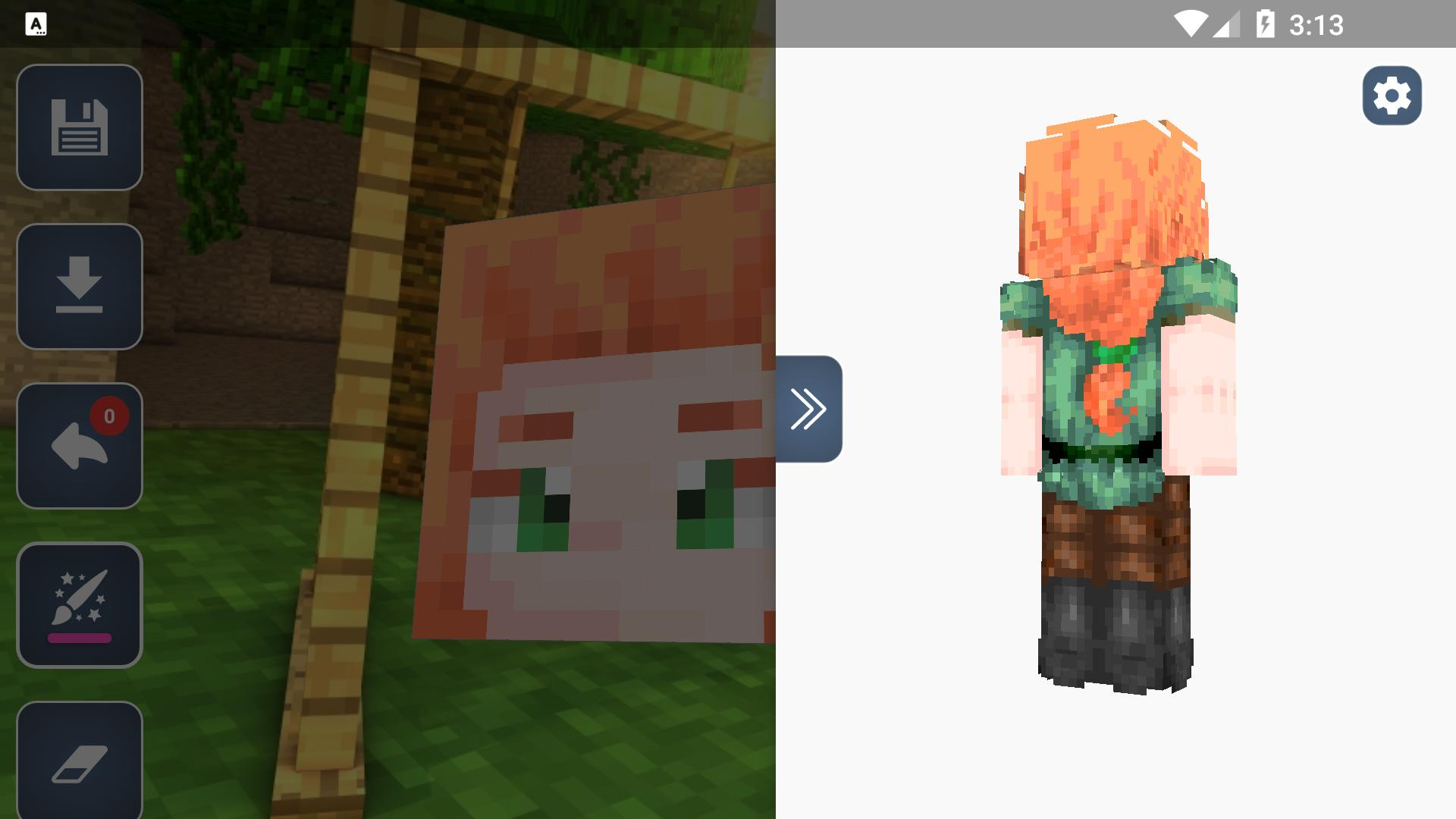 Hd Skins Editor For Minecraft Pe 128x128 For Android Apk Download