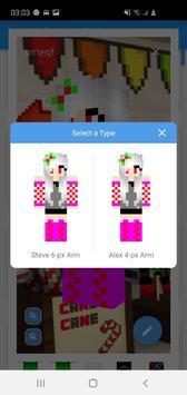 Skin Editor for Minecraft screenshot 3