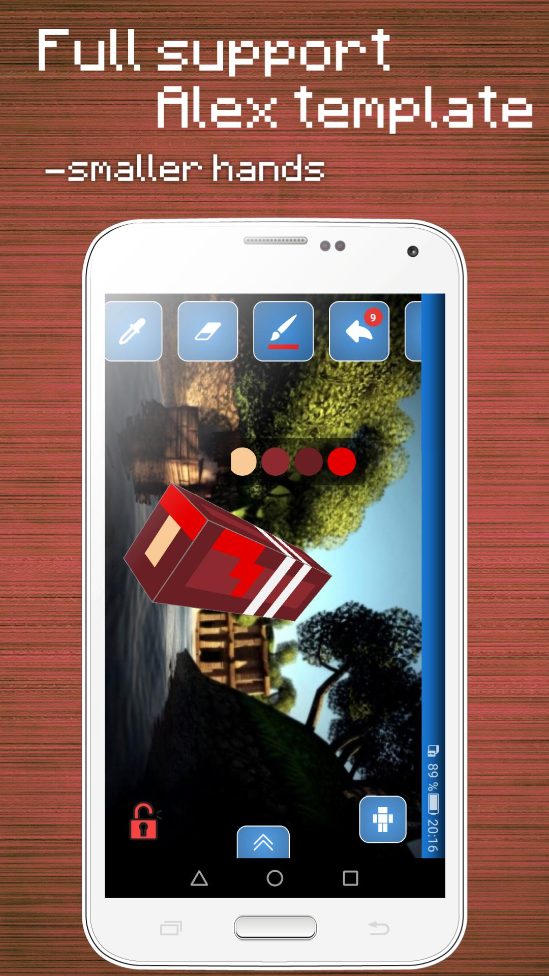 Skins Editor for Minecraft PE (3D) for Android - APK Download