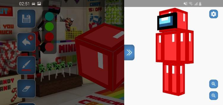 Skin Editor for Minecraft screenshot 1