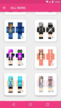 Girls Skins for Minecraft PE screenshot 10