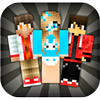 Skins for Minecraft PE आइकन