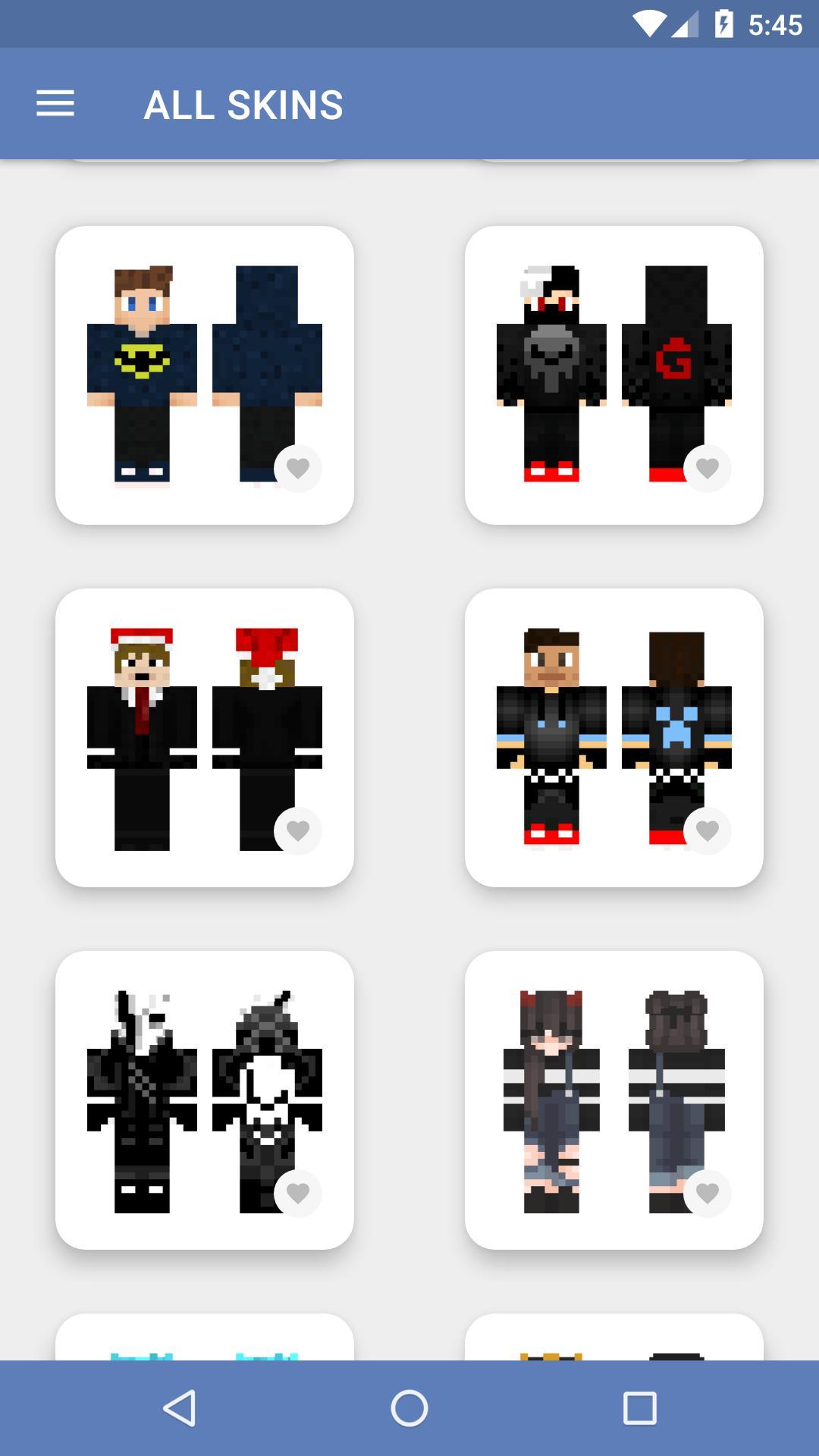 Skins para Minecraft PE (NEW SKINS) para Android - APK Baixar