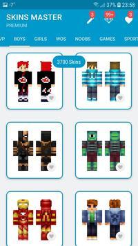 Skins MASTER for MINECRAFT PE(30000 Skins +Editor) screenshot 5