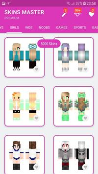Skins MASTER for MINECRAFT PE(30000 Skins +Editor) screenshot 6