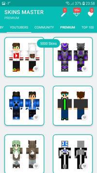 Skins MASTER for MINECRAFT PE(30000 Skins +Editor) screenshot 7