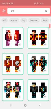 Skins MASTER for MINECRAFT PE syot layar 7