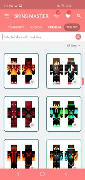 Skins MASTER for MINECRAFT PE syot layar 9
